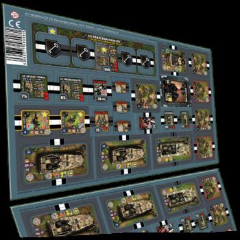 Heroes of Normandie: Panzergrenadier Punch Board -  Devil Pig Games