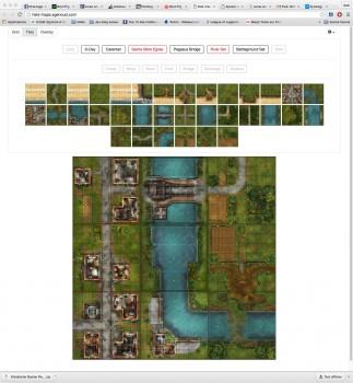 Add terrain tiles / Ajoutez des tuiles de terrain