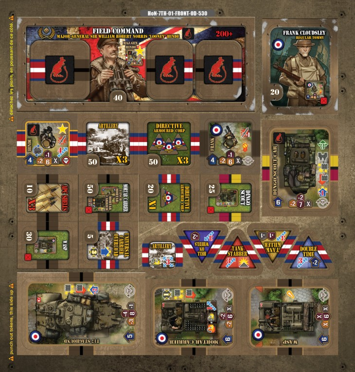 Devil Pig : [UPDATE #3] Preview KS: 7th Armoured division