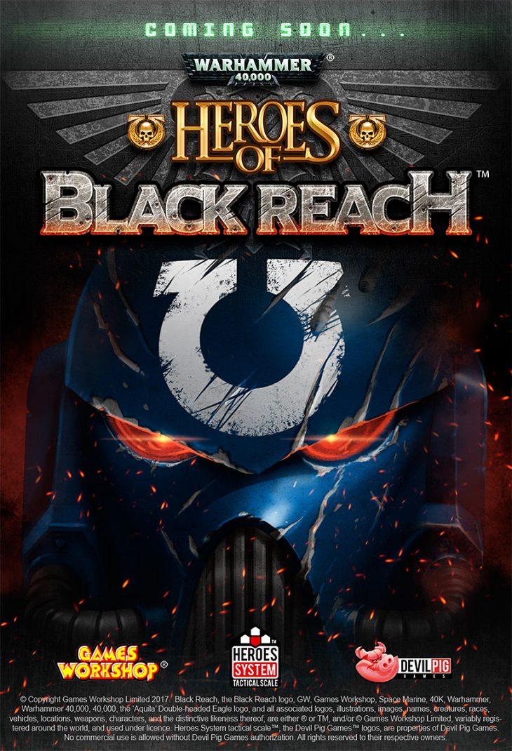 devil pig warhammer 40 000 lands in the heroes system